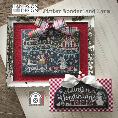 Hands On Design - Chalk On The Farm - Winter Wonderland Farm THUMBNAIL