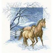 RTO Cross Stitch Kit - Beyond The Village Fence