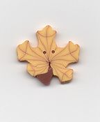 Jabco Button - 2274 Yellow Maple Leaf