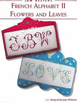 JBW Designs - French Alphabet II Flowers and Leaves MAIN
