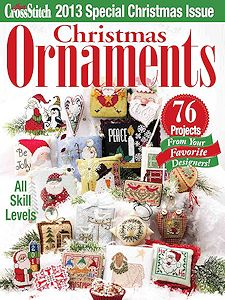 Just Cross Stitch 2013 Christmas Ornament Issue