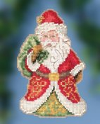 Jim Shore by Mill Hill - Gift Bearing Santa THUMBNAIL