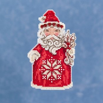Caribbean Santa Barbados Christmas Mill Hill Buttons Beads Cross Stitch Kit