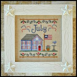 Country Cottage Needleworks - Cottage of the Month - July Cottage MAIN
