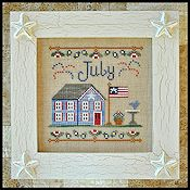 Country Cottage Needleworks - Cottage of the Month - July Cottage