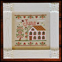 Country Cottage Needleworks - Cottage of the Month - June Cottage MAIN