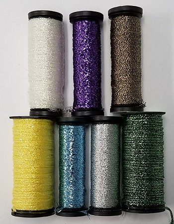 Kreinik Metallic Thread Assortment - 7 Spools