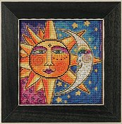 Laurel Burch by Mill Hill - Sister Sun, Brother Moon THUMBNAIL