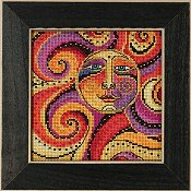 Laurel Burch by Mill Hill - Celestial Sun THUMBNAIL