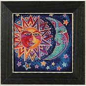 Laurel Burch by Mill Hill - Sun and Moon THUMBNAIL