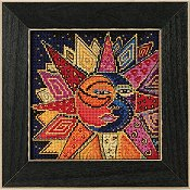 Laurel Burch by Mill Hill - Sun and Moon Dance