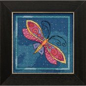 Laurel Burch - Flying Colors By Mill Hill - Dragonfly Capri