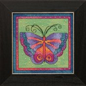 Laurel Burch - Flying Colors By Mill Hill - Butterfly Lime