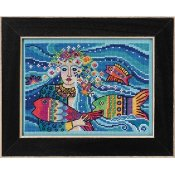 Laurel Burch by Mill Hill - Ocean Goddess THUMBNAIL