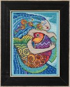 Laurel Burch by Mill Hill - Ocean Song THUMBNAIL