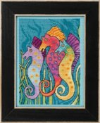 Laurel Burch by Mill Hill - Seahorses THUMBNAIL