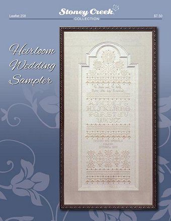Leaflet 258 Heirloom Wedding Sampler MAIN