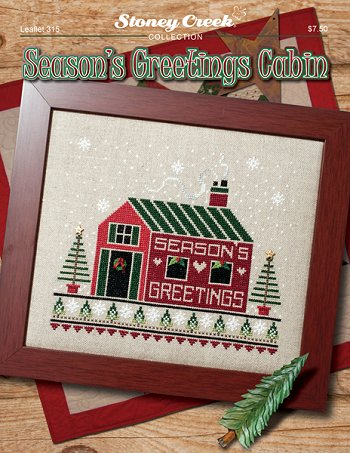 Leaflet 315 Season's Greeting Cabin MAIN