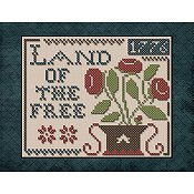 Little House Needleworks - Land of the Free Chart Pack