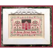Country Cottage Needleworks - Love Lives Here THUMBNAIL