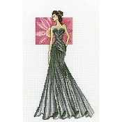 RTO Cross Stitch Kit - Miss Elegance