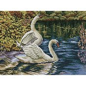 RTO Cross Stitch Kit - Autumn Lake