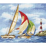 RTO Cross Stitch Kit - Sailing Regatta