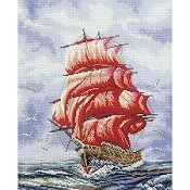 RTO Cross Stitch Kit - Sailing To Assol
