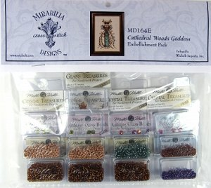Mirabilia Designs - Cathedral Woods Goddess Embellishment Pack MAIN