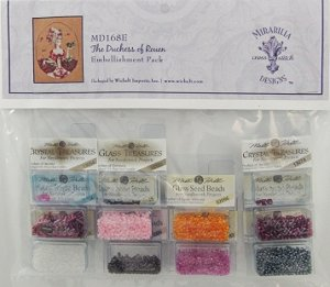 Mirabilia Designs - The Duchess of Rouen Embellishment Pack MAIN