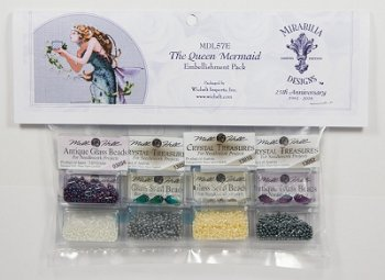 Mirabilia Designs - The Queen Mermaid Embellishment Pack MAIN