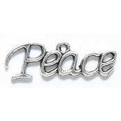Peace Charm - Silver