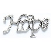 Hope Charm - Silver