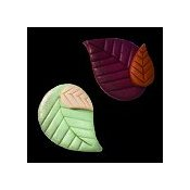 Magnets - March Aspen Leaves_THUMBNAIL