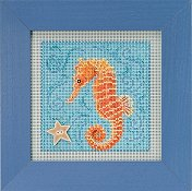 Buttons & Beads 2018 Spring Series - Seahorse THUMBNAIL