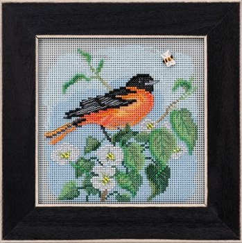 Buttons & Beads Spring 2020 Series - Baltimore Oriole MAIN