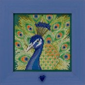 Buttons & Beads Spring Series 2020 - Proud Peacock THUMBNAIL