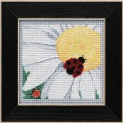 Buttons & Beads Spring 2021 Series - Ladybug On Daisy THUMBNAIL