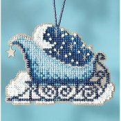 Mill Hill Sleigh Ride Bead Kit - Celestial Sleigh