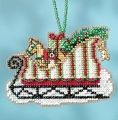 Mill Hill Sleigh Ride Bead Kit - Toyland Sleigh