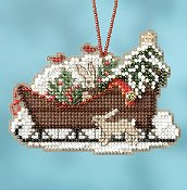 Mill Hill Sleigh Ride Bead Kit - Woodland Sleigh
