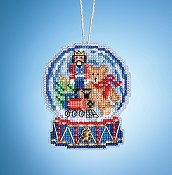 Mill Hill Snow Globe Charmed Ornaments - Toy Shop Globe THUMBNAIL