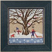 Mill Hill Bead Kit Mighty Oak Quartet - Winter Oak