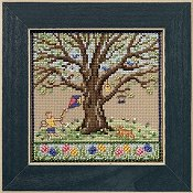 Mill Hill Bead Kit Mighty Oak Quartet - Spring Oak