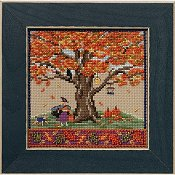 Mill Hill Bead Kit Mighty Oak Quartet - Fall Oak