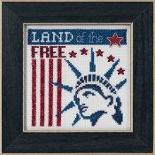 Mill Hill Bead Kit Patriotic Quartet Kit - Land of the Free THUMBNAIL
