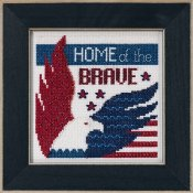 Mill Hill Bead Kit Patriotic Quartet Kit - Home of the Brave THUMBNAIL