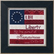 Mill Hill Bead Kit Patriotic Quartet Kit - Life, Liberty THUMBNAIL