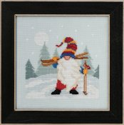 Mill Hill Gnome Quartet - Skiing Gnome THUMBNAIL