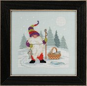 Mill Hill Gnome Quartet - Fishing Gnome THUMBNAIL